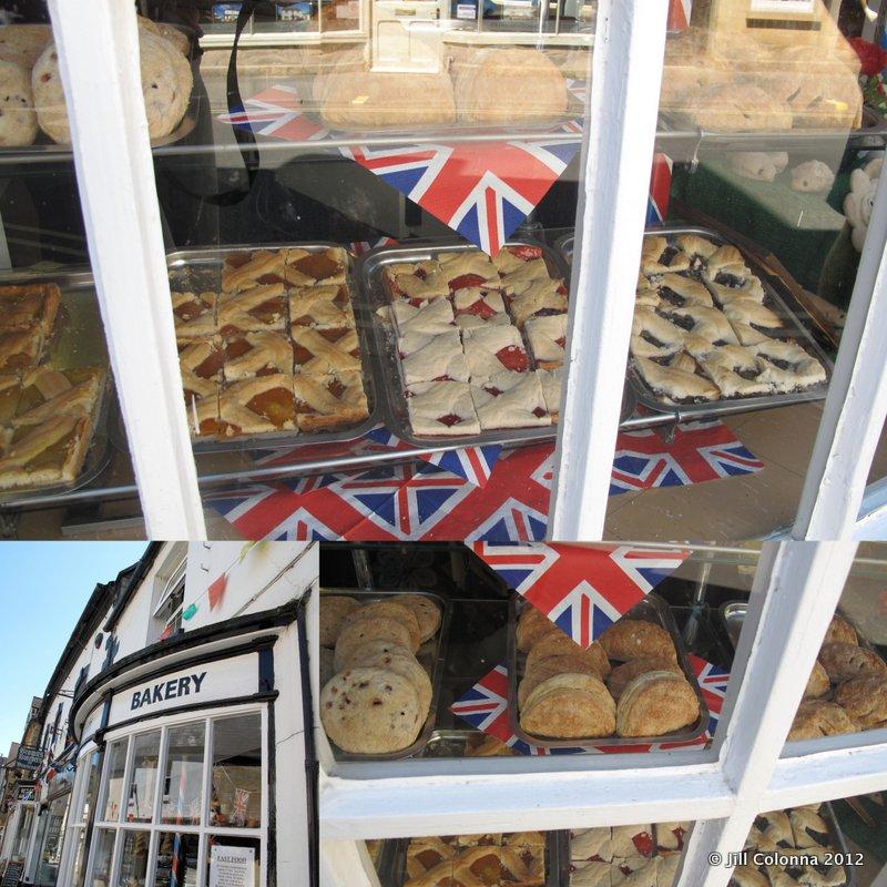 British flags English Bakery