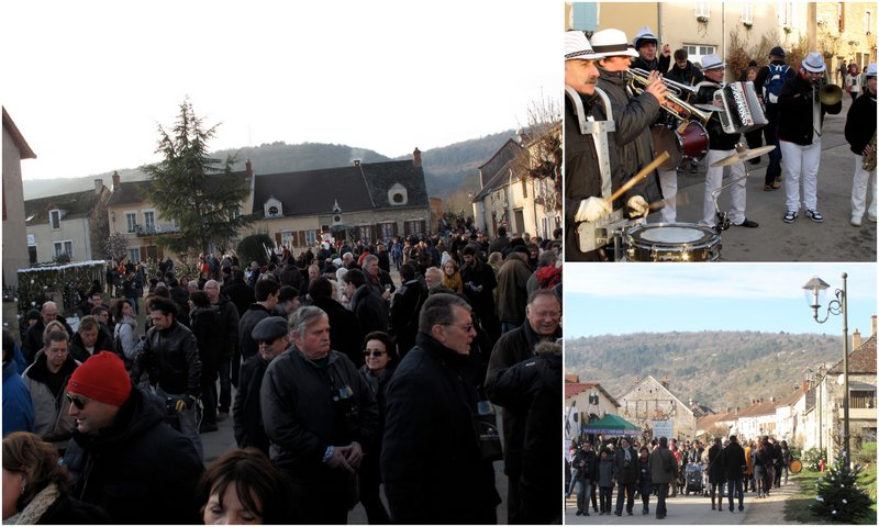 Ambience Burgundy wine festival St Vincent