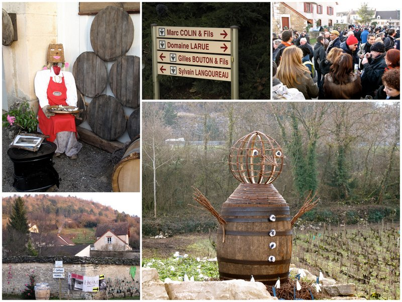 st vincent wine festival burgundy france January