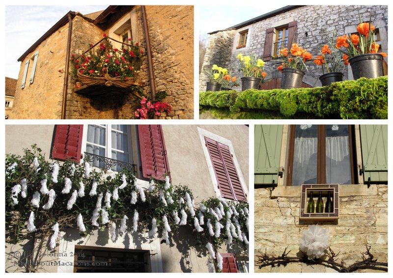 St Aubin wine festival St Vincent France Burgundy