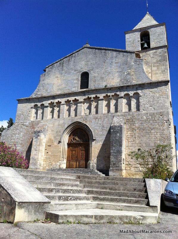 Eglise de Saignon in Provence