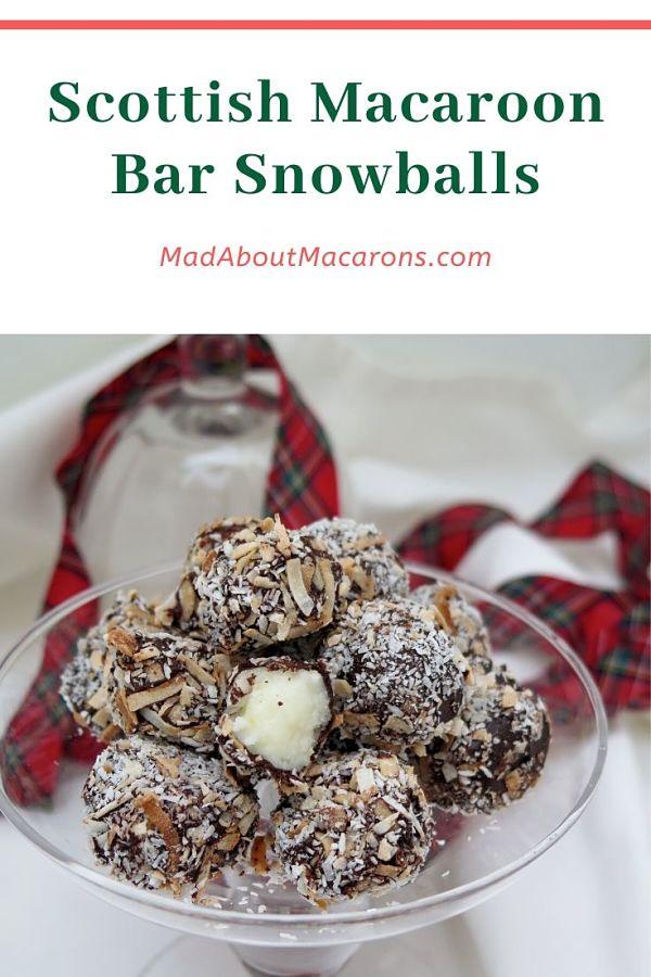 Scottish Macaroon Bar Snowballs