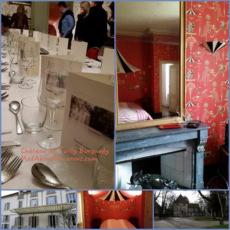 Chateau de Tailly Gites de France Burgundy