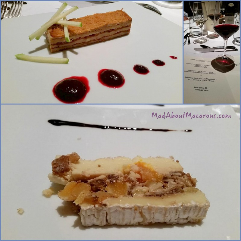 Menu Maison le Courbe Rully Burgundy
