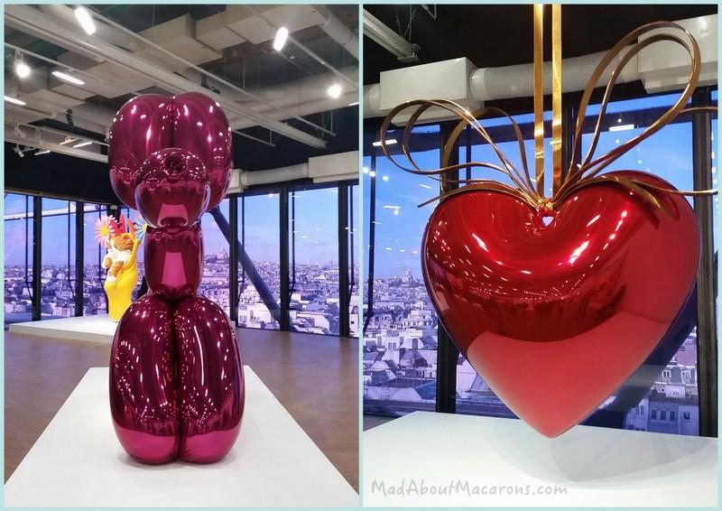 Jeff Koons exhibition Centre Pompidou in Paris
