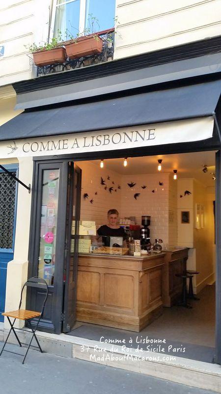 Comme à Lisbonne in Paris