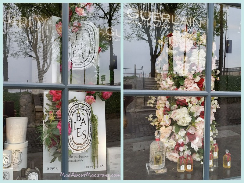 Guerlain perfumery window in Versailles