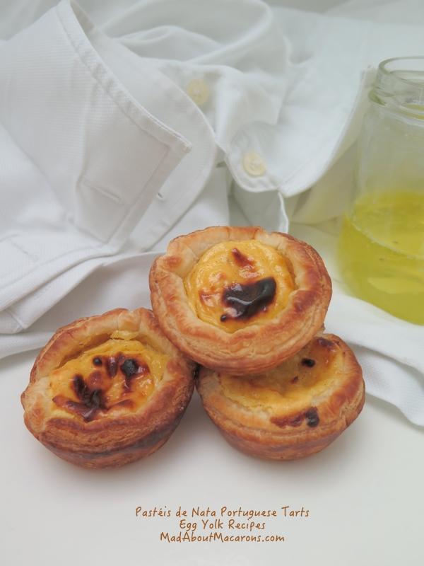 Pasteis de nata portuguese custard tarts