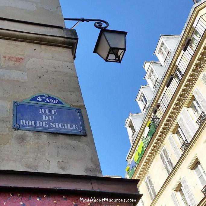 Rue du Roi de Sicile in Paris