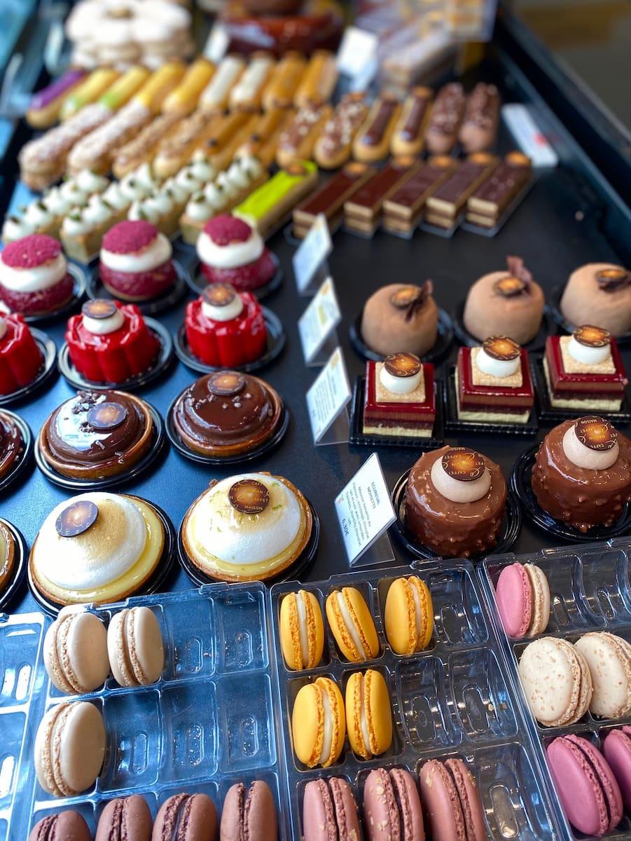 Paris patisserie Pascal Caffet cakes