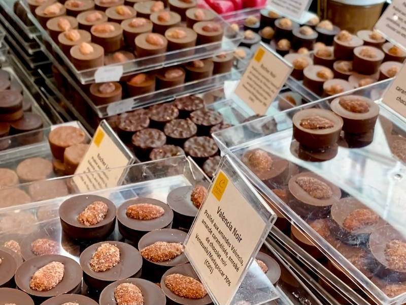 pascal caffet chocolates Paris