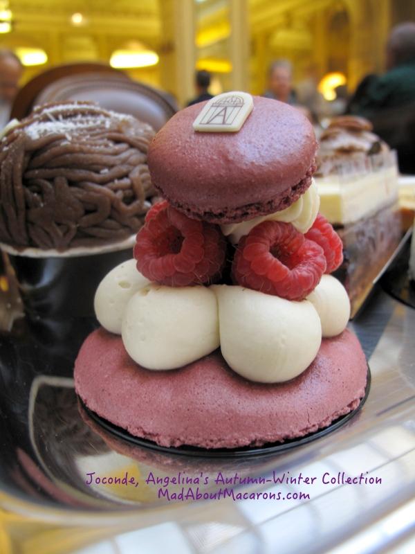 Joconde macaron pastry from Angelina Paris