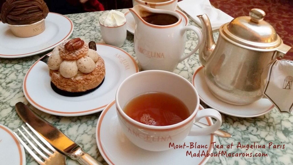 Mont-Blanc black tea from Angelina Paris