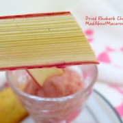 Rhubarb chips recipe