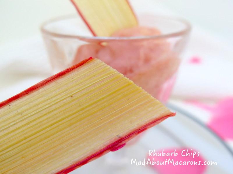 Dried Rhubarb Chips