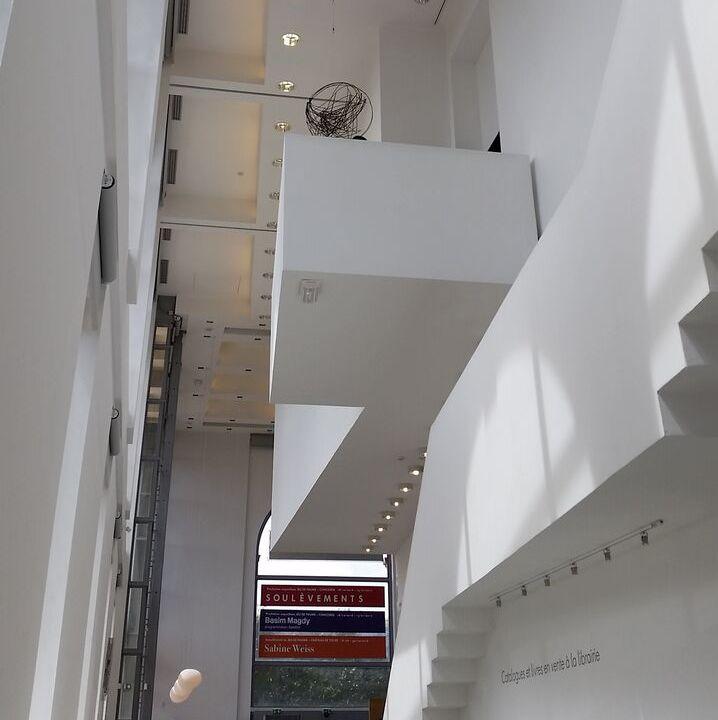 Jeu de Paume Contemporary art gallery Paris Tuileries