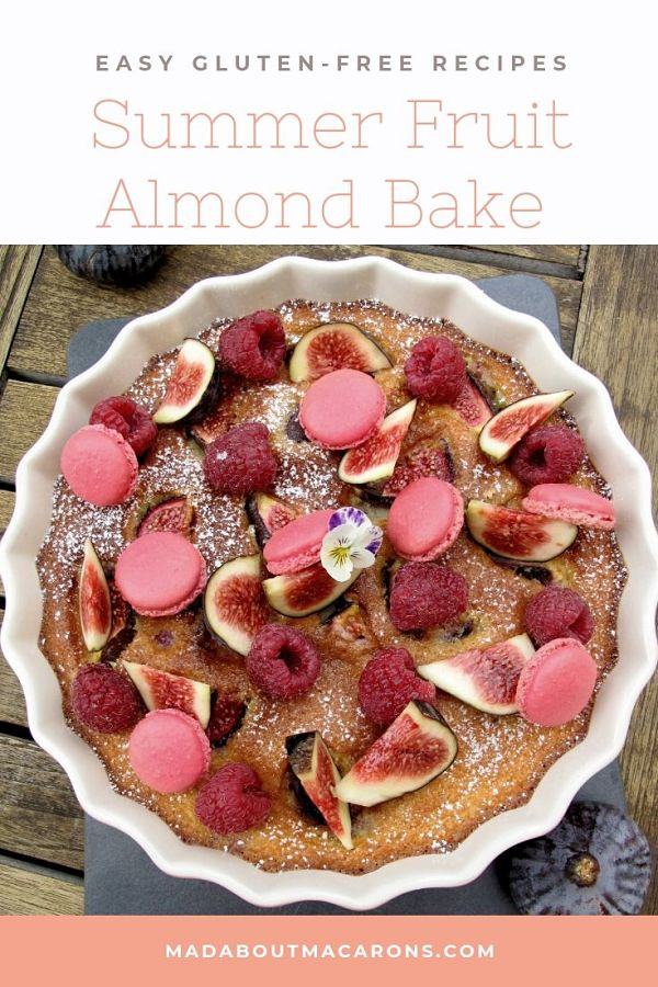 Summer fruit almond bake gluten free