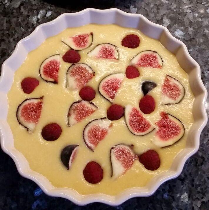 fig almond pudding method