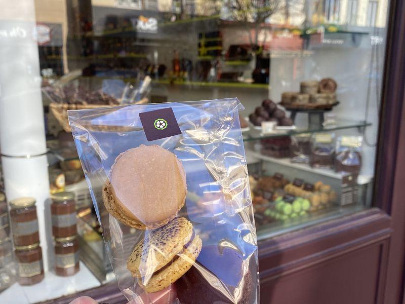 Parisian chocolate macarons St Germain