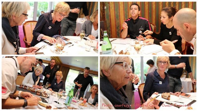 Jury tasting Christophe Roussel Pastry Competition La Baule