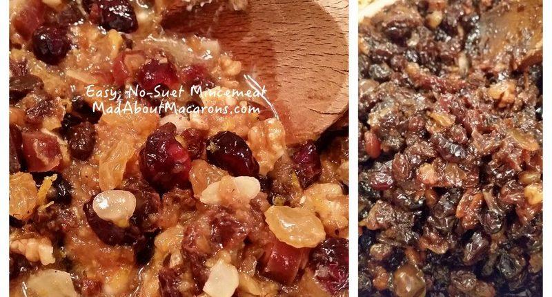 quick no-suet mincemeat recipe