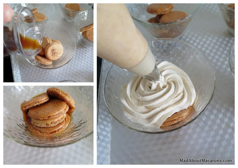 How to make Macaron Tiramisu