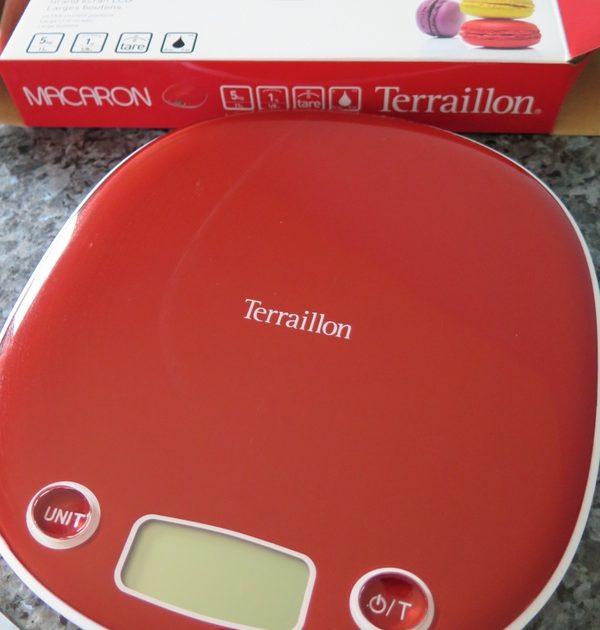 Digital macaron scales Terraillon