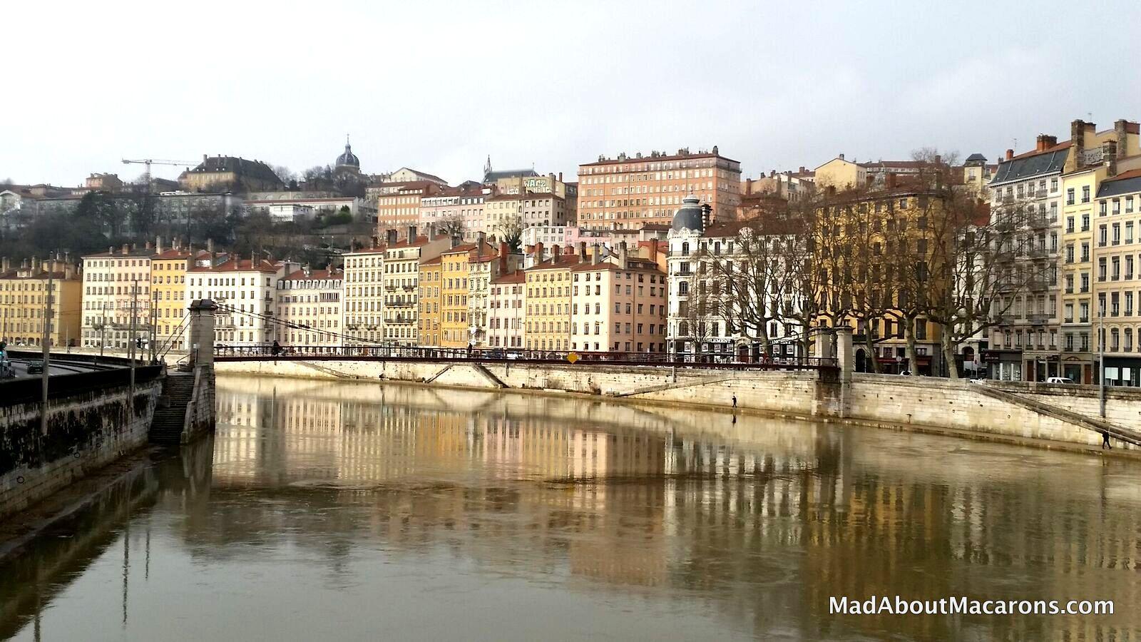 Lyon France River Saône