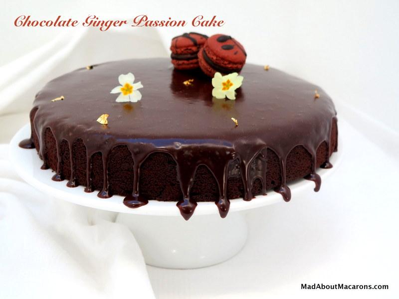 chocolate ginger passion cake