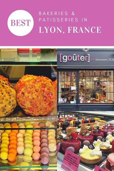 Best bakeries patisseries Lyon France