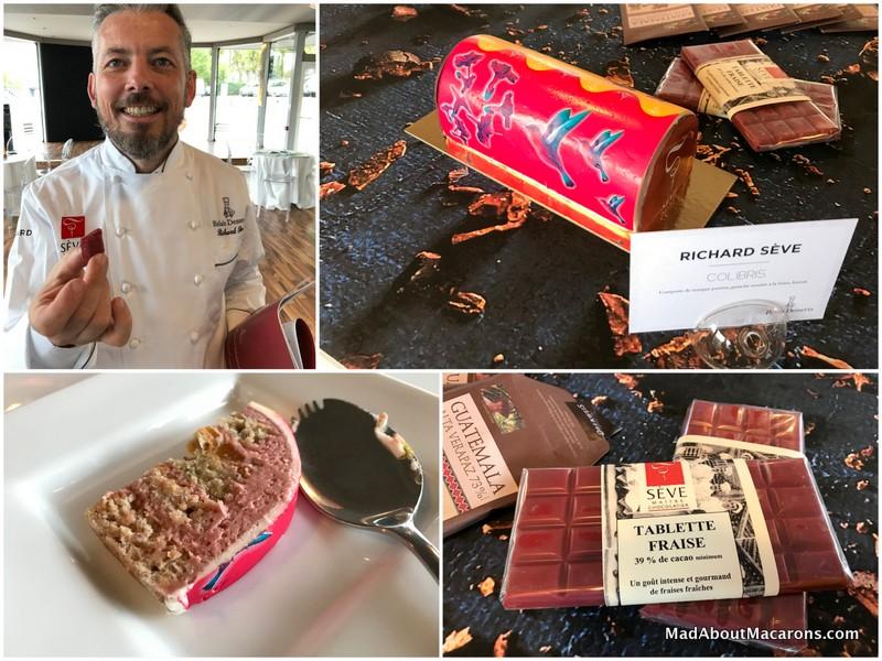 relais desserts yule log richard Seve