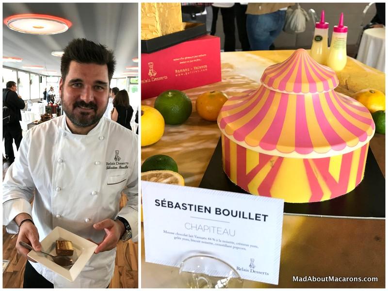 relais desserts yule log presentation 2017 Bouillet