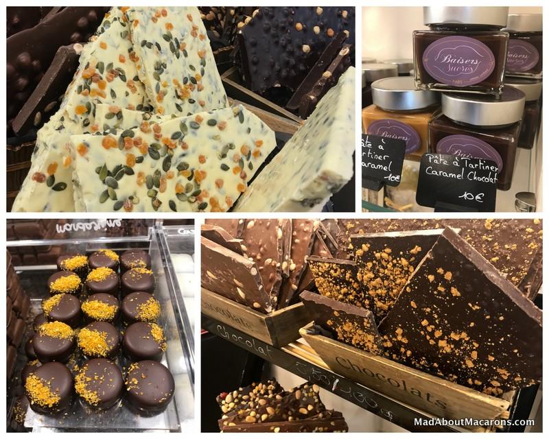 sweet kisses patisserie paris chocolate shop