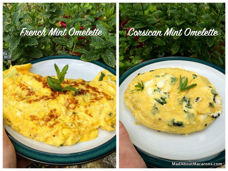 Mint Omelette