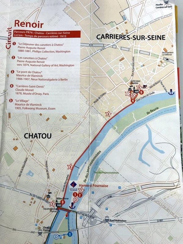 Renoir Tour Chatou - Carrieres
