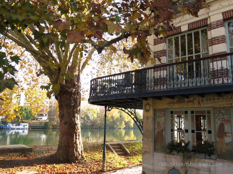 Renoir Tour Chatou Carrieres