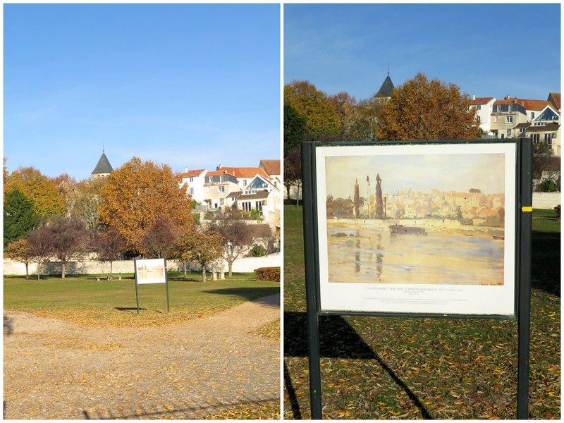 Renoir Tour Chatou to Carrieres sur Seine