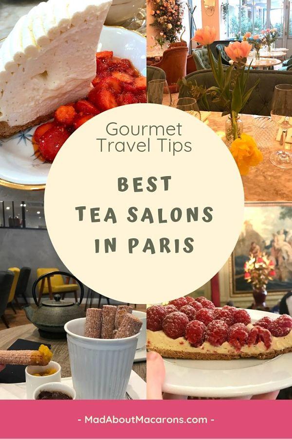 Best Tea Salons Paris
