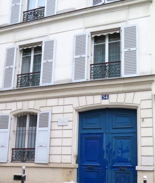 Montmartre Van Gogh appartment