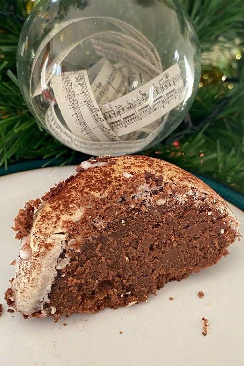 Reine de Saba Chocolate Almond Cake Christmas