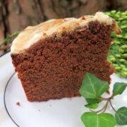 Reine de Saba Chocolate Almond Cake slice
