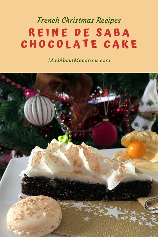 Reine de Saba Chocolate Almond Cake