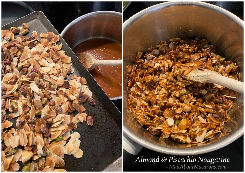 Almond-Pistachio-Nougatine