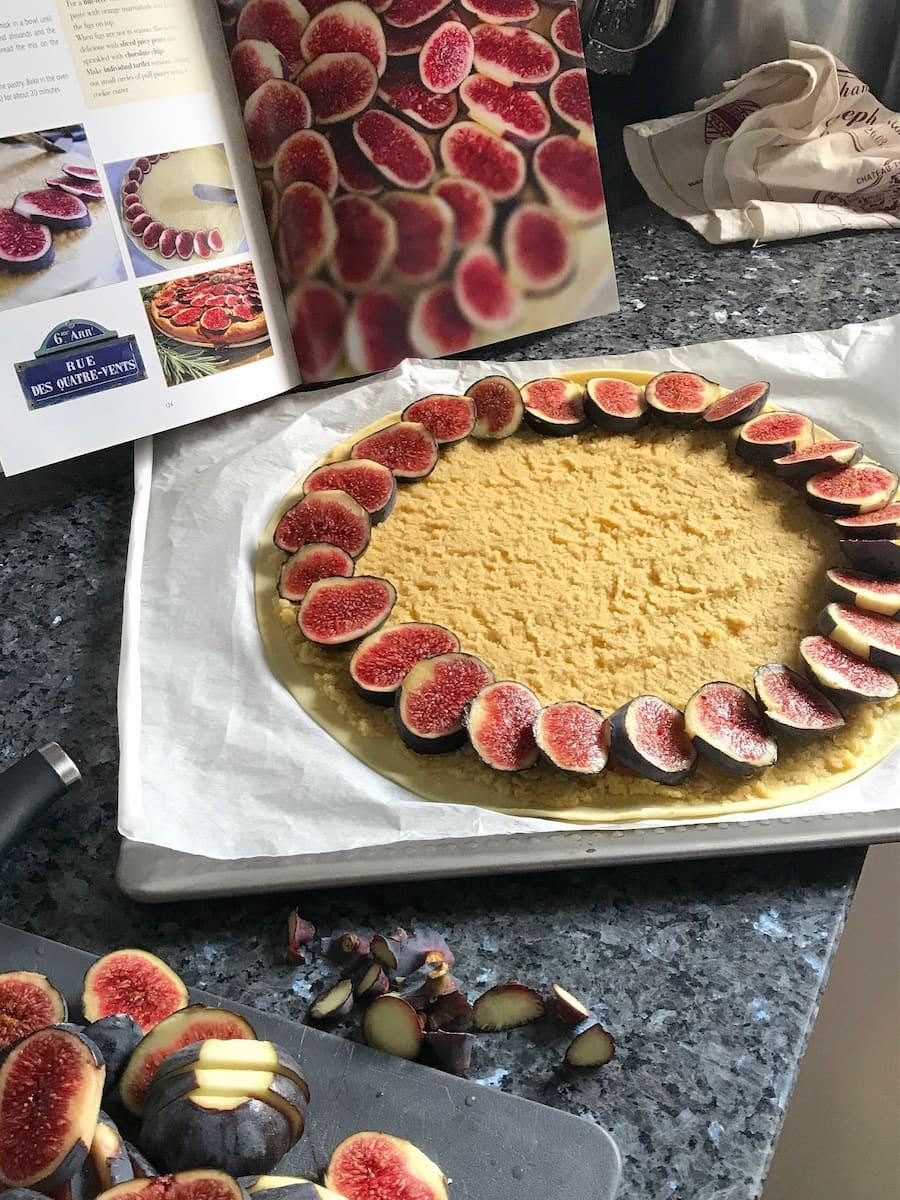 fig honey tart